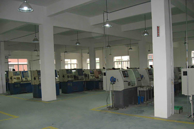 CNC maching workshop
